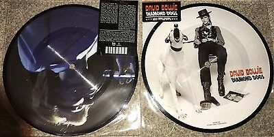 "Rare David Bowie - Diamond Dogs - 7"" Picture Disc - Mis-press - 40th Anniversary"