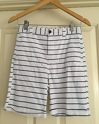 New! Boys Blue & White Stripe Shorts From Lee Cooper Size 12