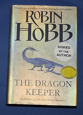 Signed first edition The Dragon Keeper  by Robin Hobb (Hardback, 2009)