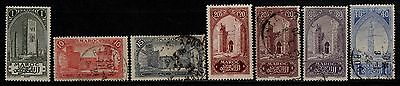 1917 French Morocco War Stamp(Mh & F.used) S.g.76,80-82,84,86