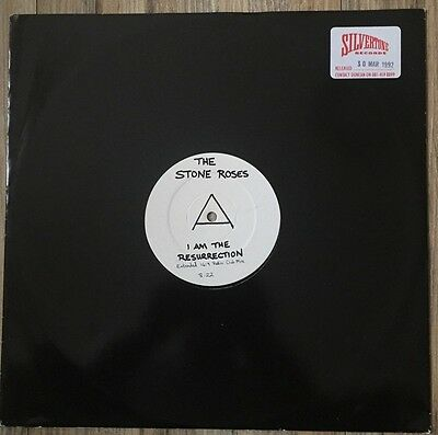 THE STONE ROSES I Am The Resurrection TEST PRESSING Ultra Rare Vinyl !!!
