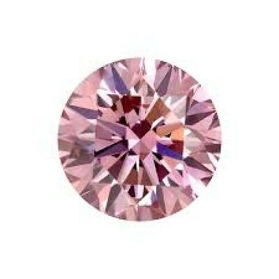 Diamants Rose Pink d'australie round brilliant cut natural stones
