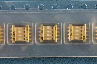 Switch Dip Slide 4-Pos. Smd 1Mm Copal Elect. Cvs-04Tb