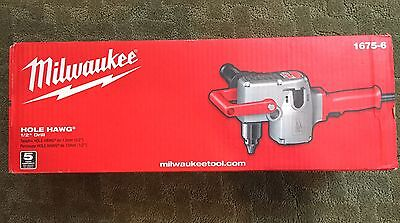 "MILWAUKEE 1675-6, 1/2"" Hole Hawg Two-Speed HEAVY DUTY Drill, 300/1,200 RPM"