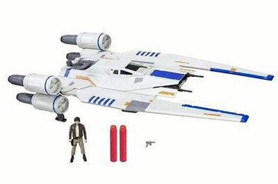 Star Wars Hasbro VAISSEAU GÉANT U-WING REBEL ROGUE ONE NERF avec CASSIAN ANDOR