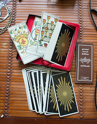 Grand Tarot Belline en coffret, tranche or