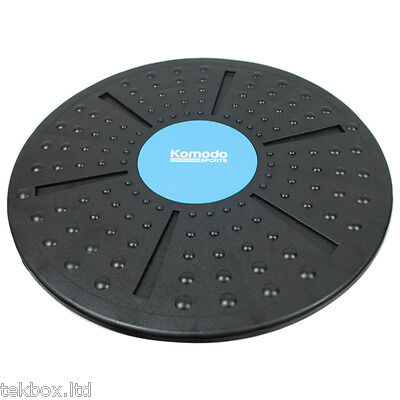 Komodo Wobble Balance Board 40cm Fitness Exercise Training Yoga Rehabilitation