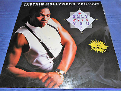 Maxi-Single Captain Hollywood - Only with you