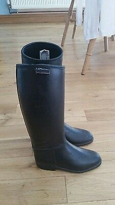 Children's Horse Riding Boots Black size 13 (32) Shires