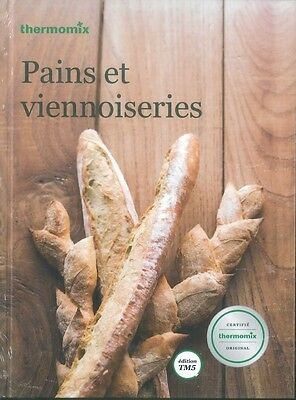 Livre THERMOMIX - Pains et Viennoiseries - NEUF