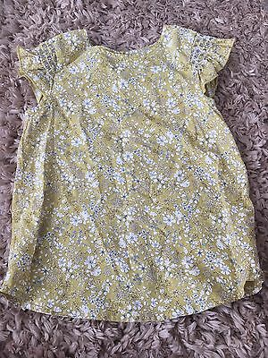 Girls Green Floral Top From Next Age 6