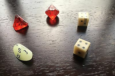 Lot of over 70 role playing dice (mixed)