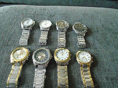 Joblot of quality gents watches