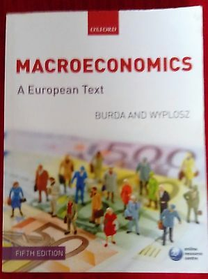 MACROECONOMICS A European Text 5th Edition: Burda & Wyplosz
