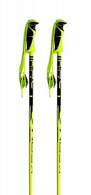 Kerma Vector Pair Of Ski Poles, 125cm, Yellow