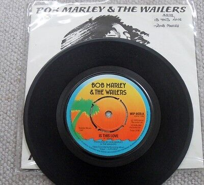 BOB MARLEY: IS THIS LOVE 45rpm  1978
