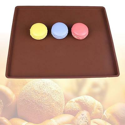 Quality Silicones Pastry Dessert Cooking Moulds Cakes Roll Bake Pan Sheet Pad FT