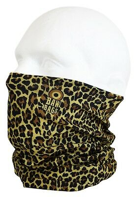 Bawbags Wizard's Sleeve Original Neck Warmer Gaiter Chube, Leopard