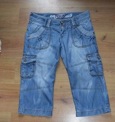 Longer length denim shorts size 12 40 from New Look fast dispatch