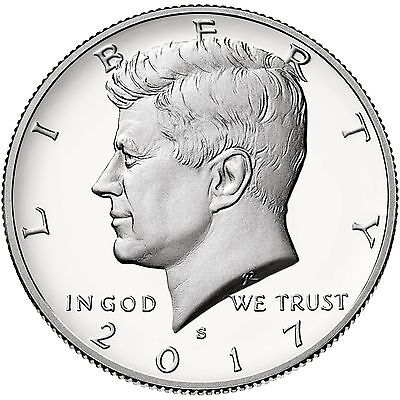 2017-S Kennedy Half Dollar Silver(90%) Proof Coin-In Stock, ready to ship!!