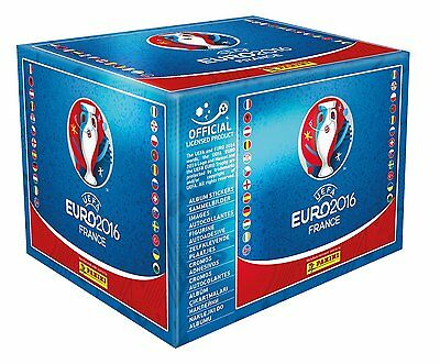 New Panini UEFA France Euro 2016 Football Sticker Official Sealed Stickers