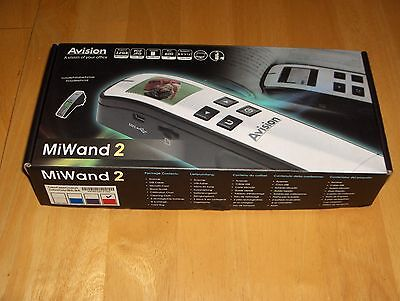 Avision MiWand 2 Portable Scanner - Red - New