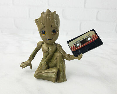 GUARDIANS OF THE GALAXY BABY GROOT 3D Magnet Nerd Block Exclusive