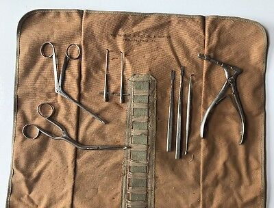 Vintage George P. Pilling & Son Philadelphia, PA  Case & Pilling Surgical Tools