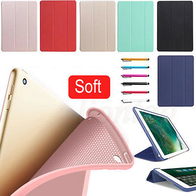 Slim Magnetic Leather Smart Cover Case For 2017 iPad Pro / Air / Mini / 2 3 4