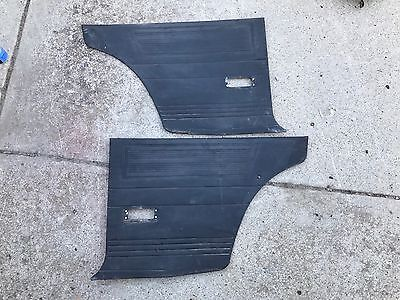 Datsun 510 2dr Rear Side Interior Door Panels Pair 68-73