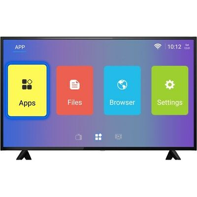 """50"""" 4K Ultra HD LED HDR  Android Smart TV with Freeview HD - electriQ"""