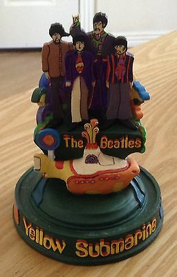 Franklin Mint The Beatles Yellow Submarine Model Limited Edition - No Glass Dome