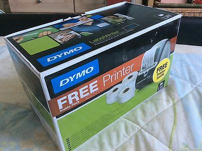 DYMO LabelWriter 450 Label Writer Printer 3 Rolls Labels Box 51ppm New Boxed