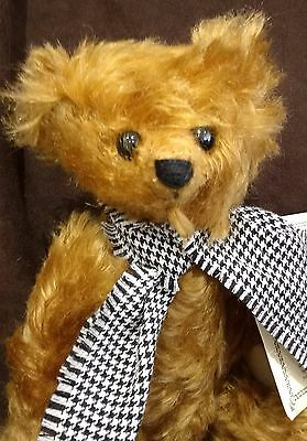 Dean's Grandpa Terry Collectors Club Mohair Teddy Bear - L/e 2000 New With Tags