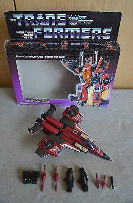 The Transformers, G1, Decepticon Thrust, Hasbro Collectable