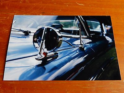 Photo 1958 Buick Limited Chrome Mirror Close Up In Montreal 1999 - Classic 50S