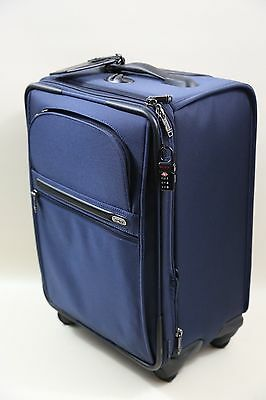 Tumi  Continental Zip Expandable Carry-On Style #: 22060  BLUE