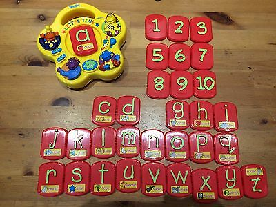 tweenies hand held tiger electronics letter time handset/game bbc 2000