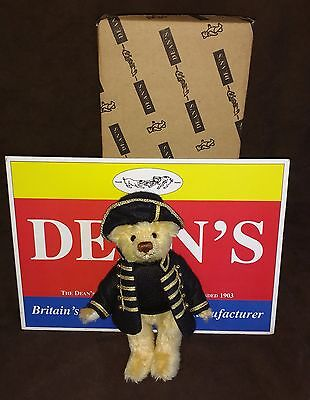 Dean's Mohair Teddy Bear - Horatio Nelson - 2005 - L/e 3/300 - New With Tags