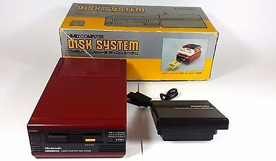 Nintendo Famicom Disk System Console Boxed New Belt Working Refurbished
