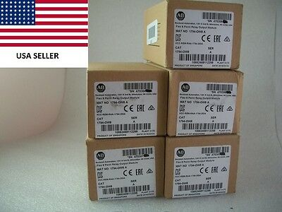 *Ships Today* Allen Bradley 1794-OW8 AB Flex 8 Point Relay Output 1794-0W8 2017