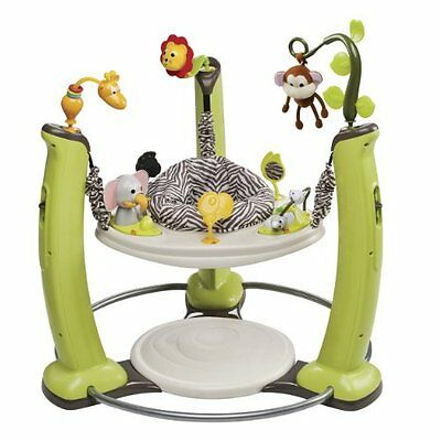 Evenflo ExerSaucer Activity Centers & Entertainers Jump And Learn Jumper, Jungle