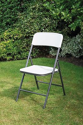 Heavy Duty Trestle plastic BBQ Camping/Party Folding Picnic Table 6ft/Chairs