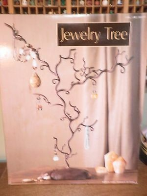 Black Metal Steel Jewelry Necklace Tree Display Stand N E W!!!!!!