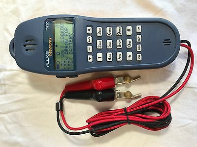 Fluke Networks 25501009 TS25D Telephone Test Set With ABN Cord