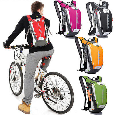 18L Men Women Cycling Bicycle Riding Backpack Sports Water Pack Rucksack Daypack