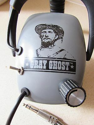 grey ghost Metal detecting headphones