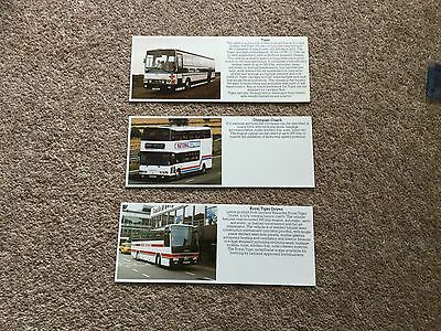 Leyland Olympian Coach, Tiger And Royal Tiger Doyen Buses Specification Cards