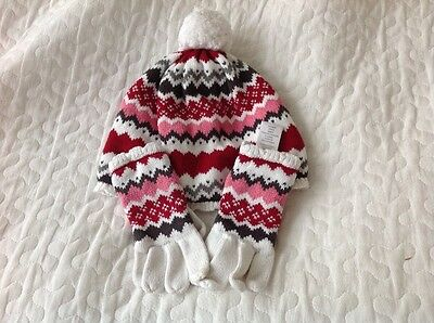 Gymboree hat and gloves size 5-7 years