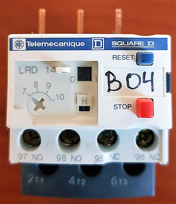 Thermal overload relay 7-10A LRD14